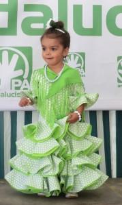 My little Sevillana!